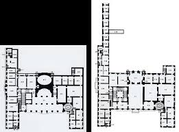 125 palazzo barberini rome ground and first floor plans