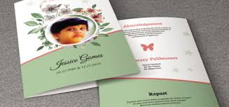 template for a funeral program funeral program template sistec