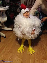 Toddler Chicken Halloween Costume Chicken Baby Halloween Costume Photo 2 3