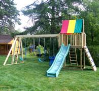 swing sets backyard creations kaffman lawn furniture berlin ohio