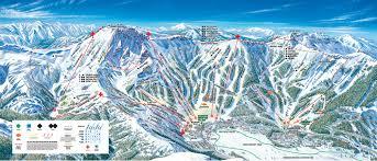 Big Sky Montana Trail Map by Kirkwood California Ski North America U0027s Top 100 Resorts Project
