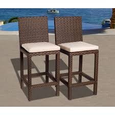 Wicker Patio Furniture Miami by International Home Miami Pli Monzaset5 Monza 5 Piece Wicker Square