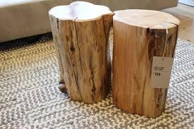 tree trunk end table tree stump table singapore tables pinterest trunk high toned tree