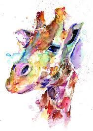 Items Similar To Art Print - 211 best animal portrait watercolor art images on pinterest art
