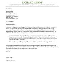 exclusive inspiration cover letter examples for internships 5