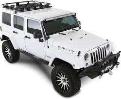 jeep rubicon white 4 door jeep roof racks quadratec