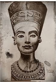 queen nefertiti tattoo drawing cerca con google disegni