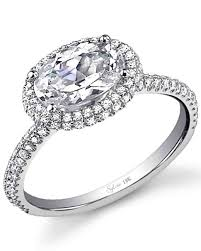 setting diamond rings images 12 east west engagement rings martha stewart weddings jpg