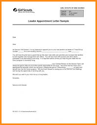 doc 600730 job appointment letter u2013 job appointment letter