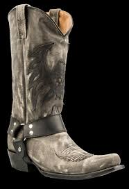 mens roper boots men roper footwear mens horseshoe kiltie shoe