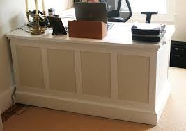 Industrial Reception Desk by Home Design White Reception Desk For Sale Eclectic Medium