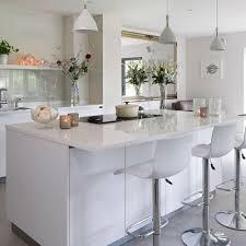 white kitchen with island kitchen island ideas ideal home
