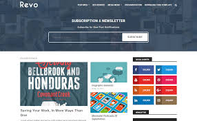 revo simple blogger template templatesyard free blogger
