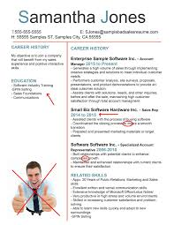 Sales Skills Resume Example by Good And Bad Resume Examples Template Design