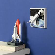 shuttle light switch or dimmer switch perfect for a boys or girls space shuttle light switch or dimmer switch perfect for a boys or girls space themed bedroom