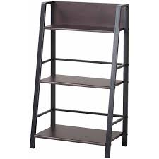 bush alamosa ladder bookcase classic black walmart com
