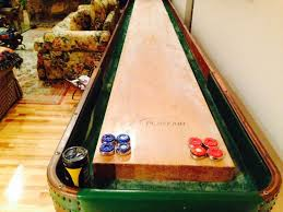 antique shuffleboard table for sale antique shuffleboard table by american shuffleboard company 22 feet