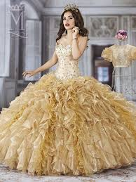 gold quince dresses quinceanera dresses gold and white search dresses