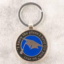 graduation keychain graduation keyring jeremiah 29 11
