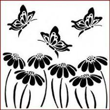 stencil templates masks 12 ornate butterfly butterfly s