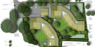 garden design with landscape master plan campus architect