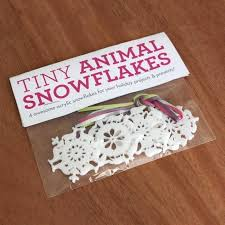 mini animal snowflake ornaments series 1 peppersprouts