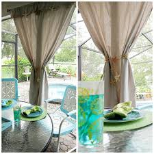 perfect beach theme curtains inspiration with ocean themed