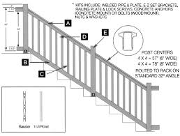 oxford stair 3 1 2 u0027 high specifications hoover fence