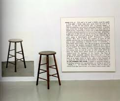 One And Three Chair One And Three Stools Par Joseph Kosuth Sur Artnet