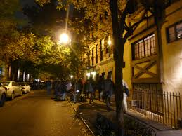 took a ghost walk through the west village today u0027s the day i