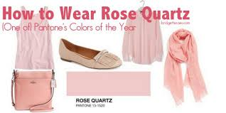 Pantones Color Of The Year How To Wear Rose Quartz One Of Pantone U0027s Colors Of The Year