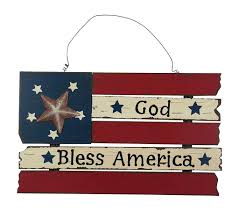 Wooden American Flag Wall Hanging Ese Patriotic American Flag Wooden Wall Decor Hanging Sign 20