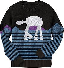 sweater wars at at wars sweater starwars and wars