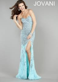 jovani 4247 silver dress for 690 long strapless
