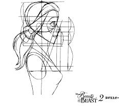 fan art of belle model sheet for fans of disney princess cg