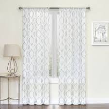 90 Inch Sheer Curtains Buy Curtain Panels Sheer From Bed Bath U0026 Beyond