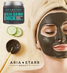 Best Skin Care Brand For Oily Skin Aria Starr Dead Sea Mud Mask For Face Acne Oily Skin