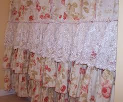 Urban Outfitters Waterfall Ruffle Curtain by Bathroom White Ruffle Shower Curtain Urban Outfitters Cheap