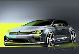 volkswagen lemon volkswagen reveals golf r 400 concept sketches