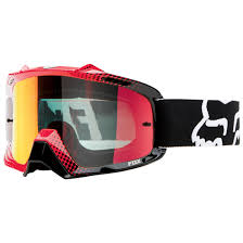 thor motocross goggles fox racing airspc sand goggles race white red red spark lens