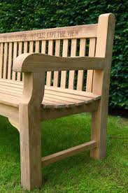 our park land personalised wooden benches makemesomethingspecial com