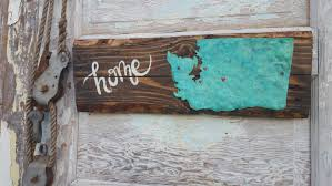 wooden signs decor home state sign plank style state sign wood signs rustic home
