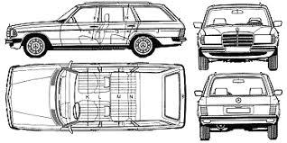 si e auto 1 2 3 auto mercedes 280te s123 1977 bild bild zeigt abbildung