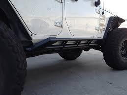 badass 2 door jeep the standard rock sliders vks fabrication