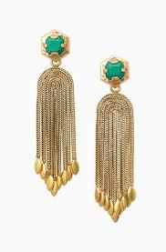 gold chandelier earrings vintage gold chandelier earrings odeon chandeliers stella dot