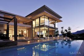 Modern Villas by World Of Architecture Modern Villa Montrose House By Saota Cape