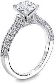 milgrain engagement ring pave milgrain engagement ring m1617r210