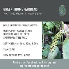 native plant nursery michigan green thumb gardens home facebook
