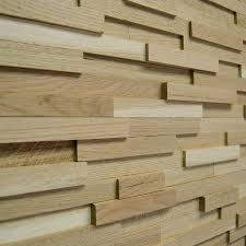 wallure striped oak narrow sleek wooden wall panel