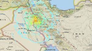 map iran iraq iran iraq border strong earthquake kills at least 349 the two